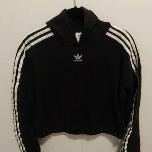 Addidas cropped sweatshirt